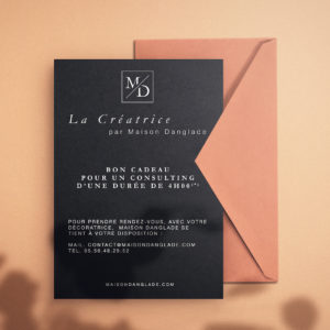 Maison Danglade - Décoration Intérieur - Carte Cadeau - Bon cadeau - Bordeaux - 33 - Gironde - Créatrice